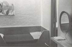 Margaret Robb Shook Cooper, Diseño de interiores y equipamiento para el alojamiento de personal de vuelo de United Air Lines, en el Aeropuerto Internacional de Washington