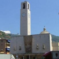 Attilia Vaglieri y Umberto Travaglio_Iglesia parroquial en Recco, vistas actuales