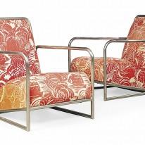 Adrienne Gorska. Sillas tubulares de acero niquelado. (Diseñadas para el apartamento Lempicka), 1928.