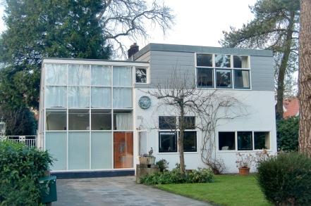 Truus Schröder y Gerrit Rietveld, casa Van Urk